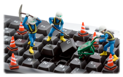 выполняется ремонт компьютера